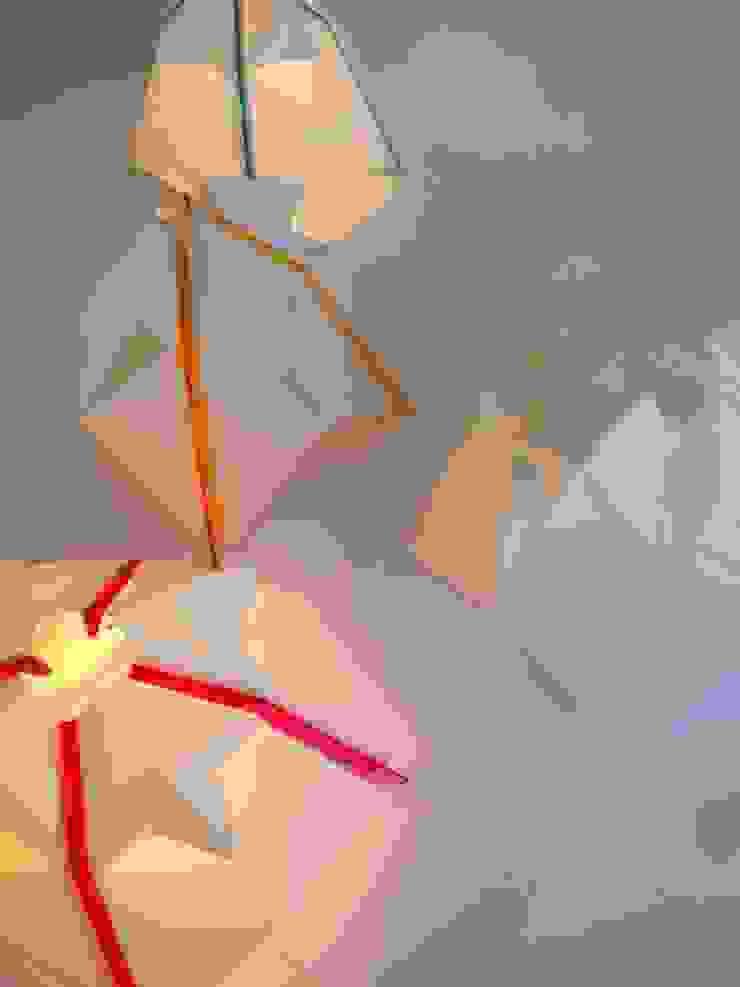 Luminarias de papel 7Rayos Living roomLighting
