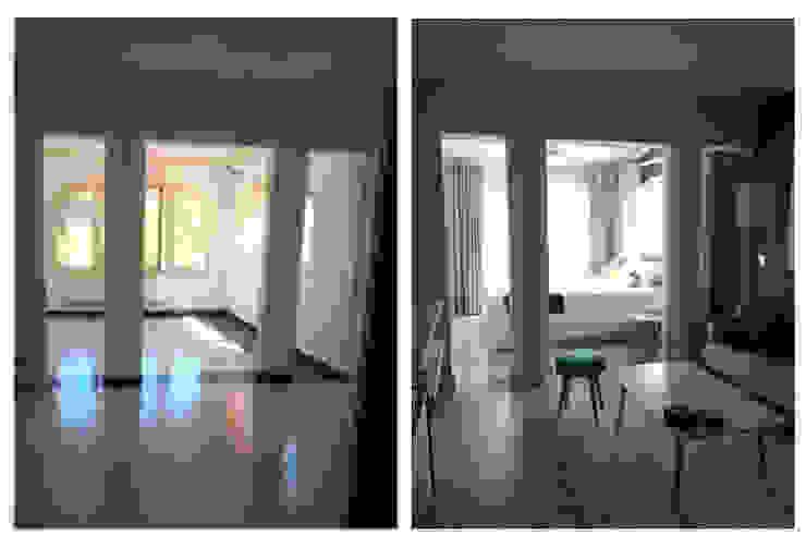 chalet en Javea Dormitorios de estilo moderno de torradoarquitectura Moderno