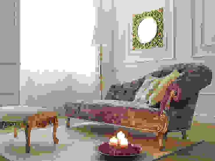 por Studio Como Clássico Têxtil Ambar/dourado
