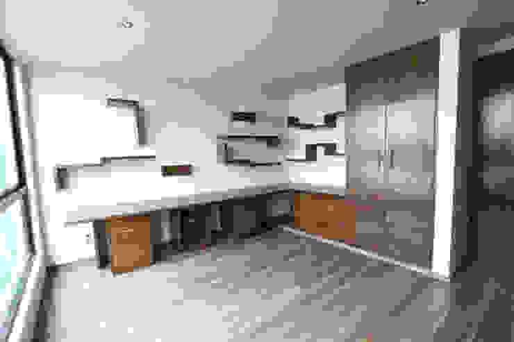 Casa Coyoacán Monserrat Cocinas modernas de ARQUITECTURA SOSTENIBLE Moderno