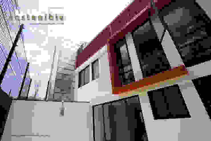 Casa Coyoacán Casas modernas de ARQUITECTURA SOSTENIBLE Moderno