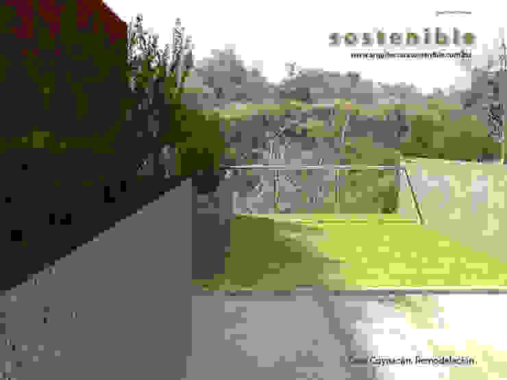 Casa Coyoacán Jardines modernos de ARQUITECTURA SOSTENIBLE Moderno