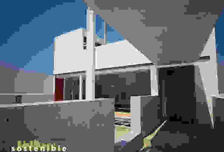 Casa Metepec Casas modernas de ARQUITECTURA SOSTENIBLE Moderno