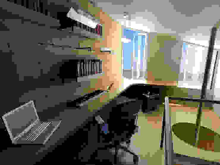 Casa Metepec Estudios y despachos modernos de ARQUITECTURA SOSTENIBLE Moderno
