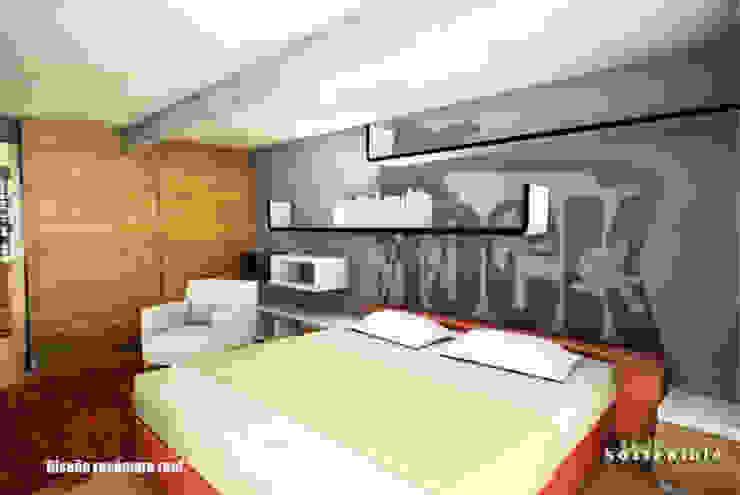 Departamento Colonia del Valle 2 Dormitorios modernos de ARQUITECTURA SOSTENIBLE Moderno
