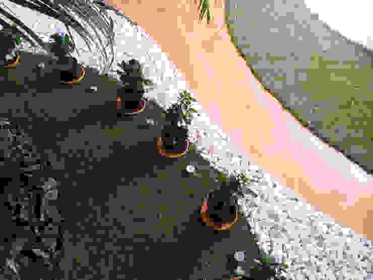 Reforma Viv Monaco torradoarquitectura Jardines de estilo moderno