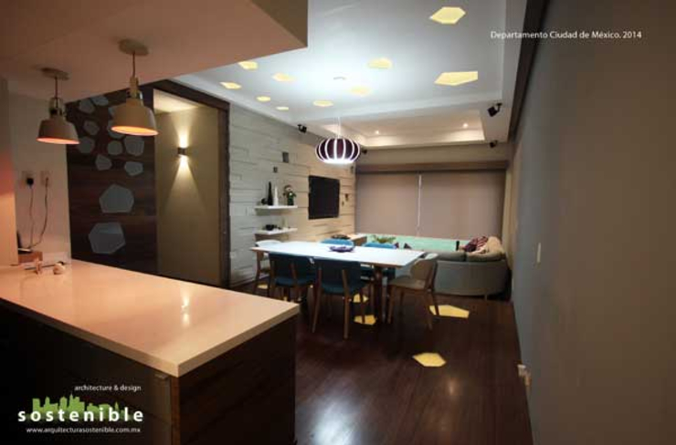Departamento del Valle Кухня в стиле модерн от ARQUITECTURA SOSTENIBLE Модерн