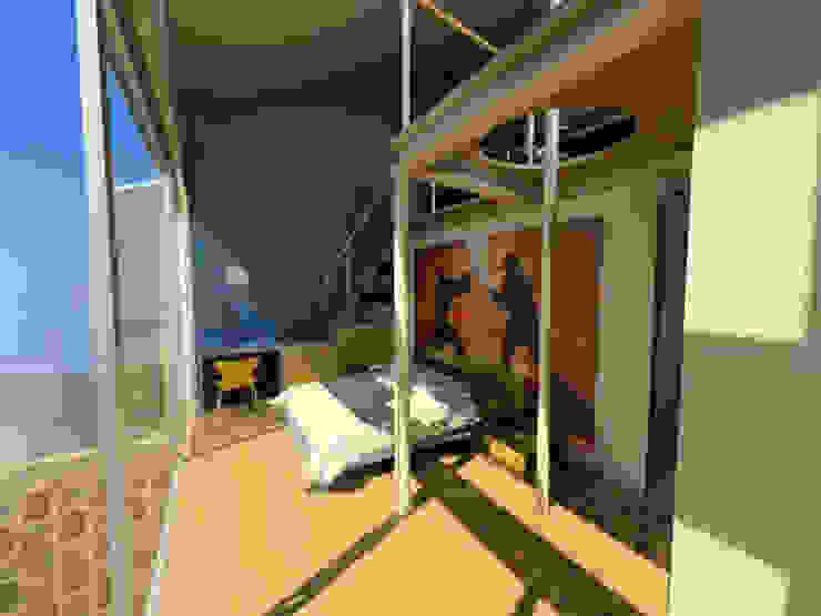 Casa Metepec Dormitorios modernos de ARQUITECTURA SOSTENIBLE Moderno
