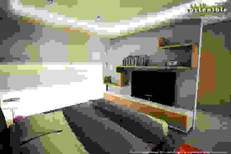 Departamento del Valle Спальня в стиле модерн от ARQUITECTURA SOSTENIBLE Модерн
