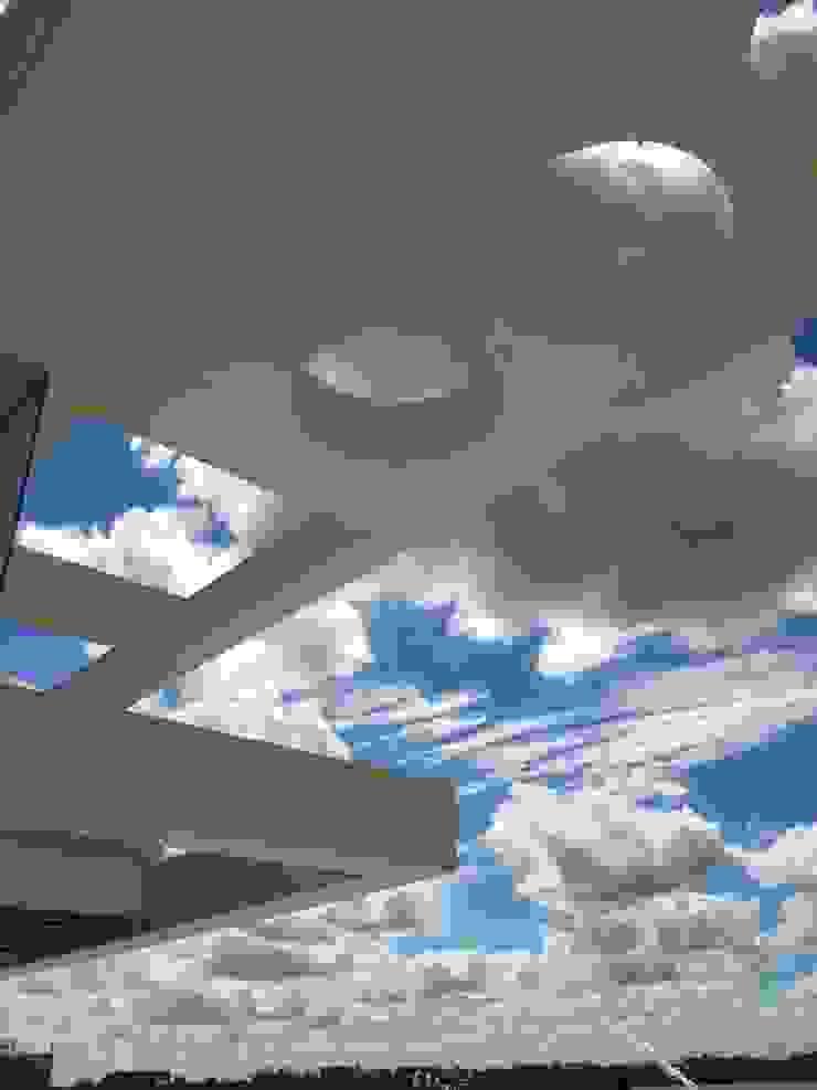Casa en Cardales Балкон и терраса в стиле модерн от BARRIONUEVO SIERCHUK ARQUITECTAS Модерн