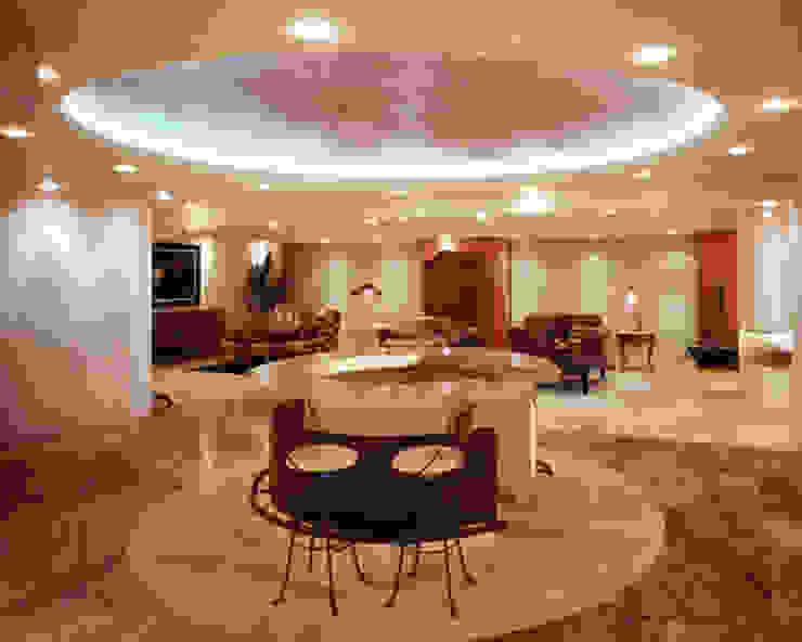 Salon de style  par Diseño Integral En Madera S.A de C.V.,