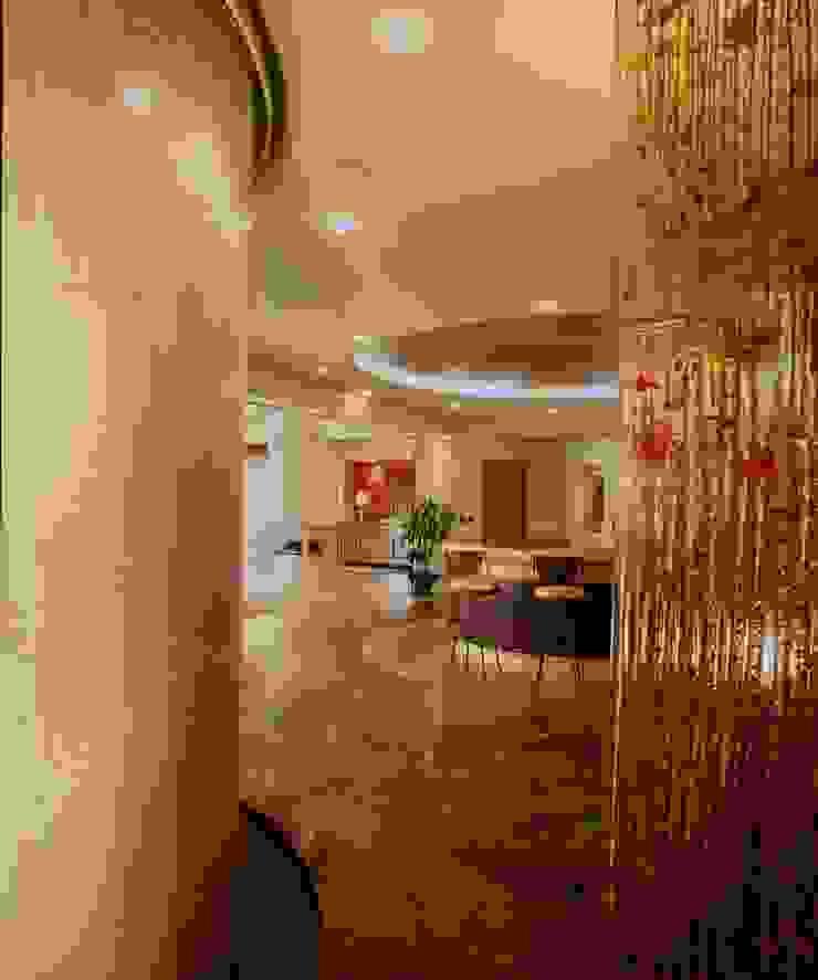 Departamento Campos Eliseo Paredes y pisos de estilo clásico de Diseño Integral En Madera S.A de C.V. Clásico