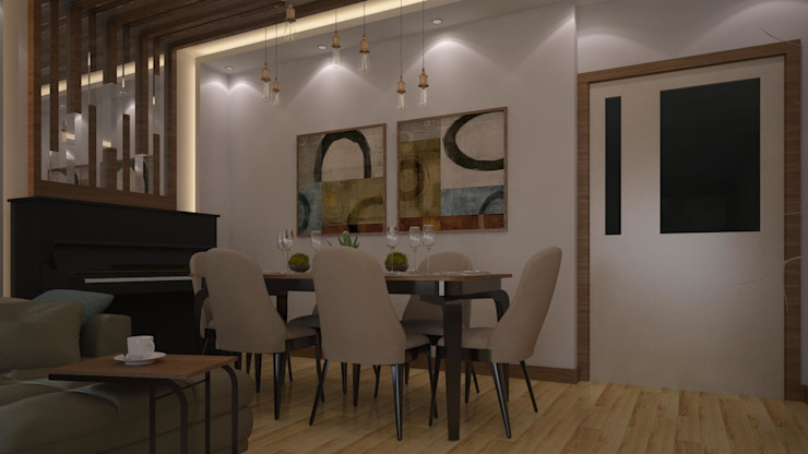 RUBA Tasarım – salon: modern tarz , Modern
