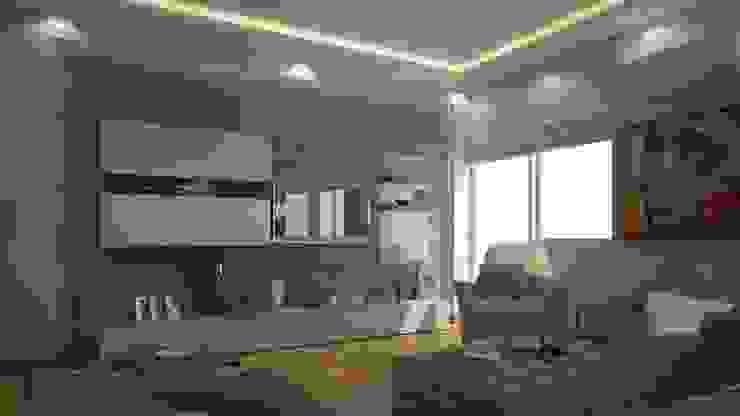 salon Modern Oturma Odası RUBA Tasarım Modern