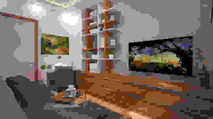 RUBA Tasarım – çalışma odası: modern tarz , Modern