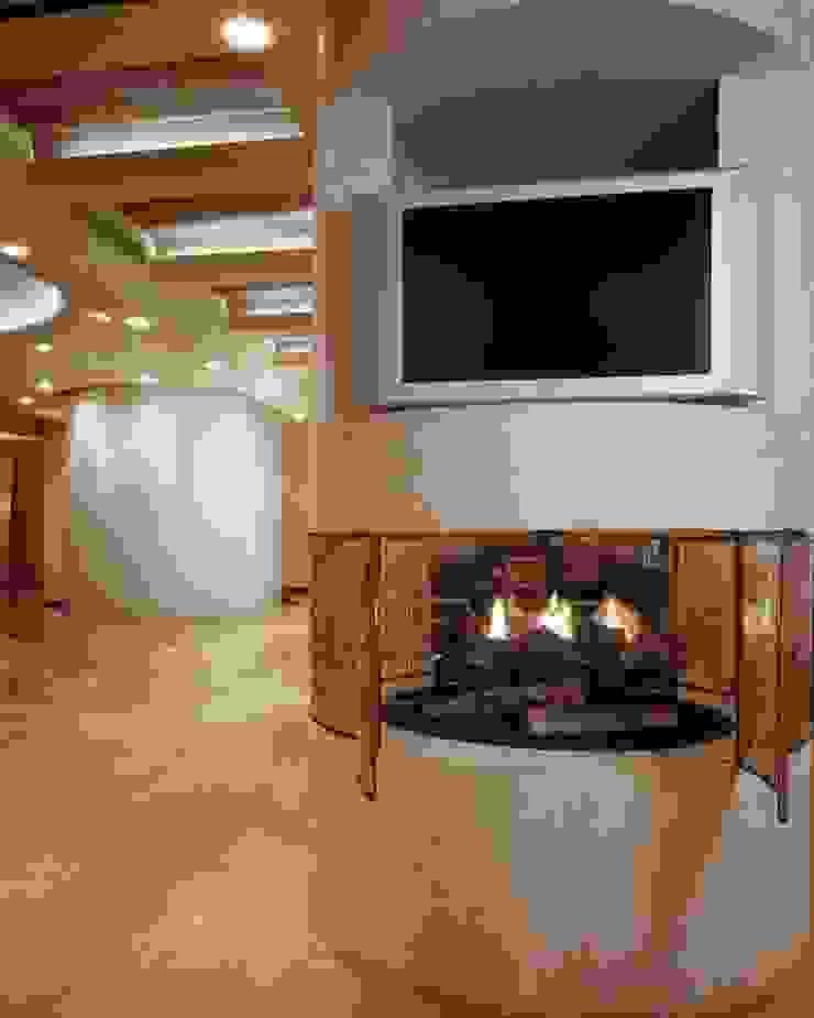 Departamento Campos Eliseo Salones clásicos de Diseño Integral En Madera S.A de C.V. Clásico