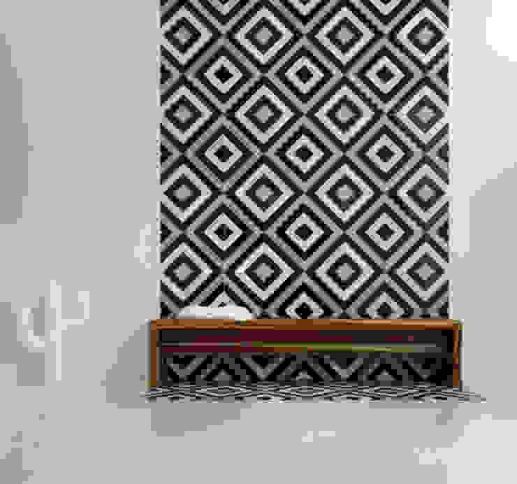 Baño en silencio Baños minimalistas de SIMPLE actitud Minimalista Mármol