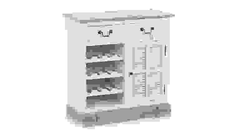 KOMODA ALURO PALIDA od Altavola Design Sp. z o.o. Rustykalny Drewno O efekcie drewna