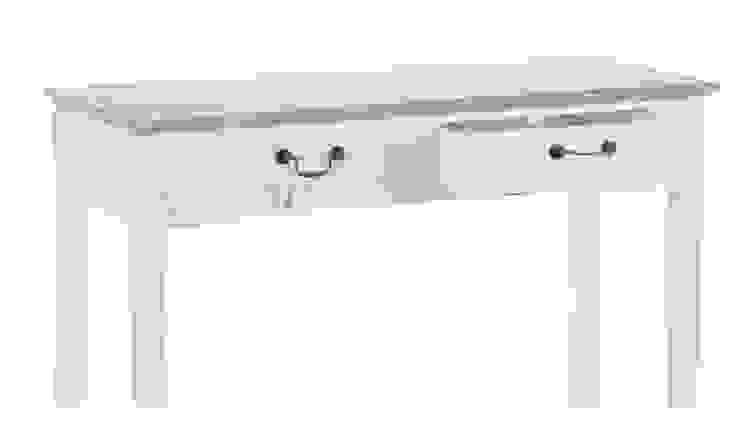 BIURKO ALURO PALIDA od Altavola Design Sp. z o.o. Rustykalny Drewno O efekcie drewna