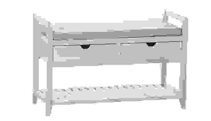 ŁAWKA Z SZUFLADAMI ALURO PALIDA od Altavola Design Sp. z o.o. Rustykalny Drewno O efekcie drewna