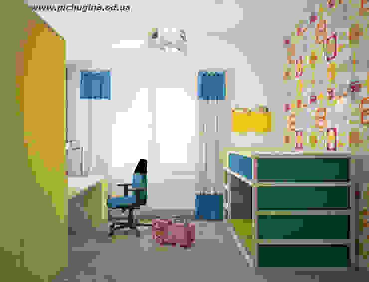 Tatyana Pichugina Design Modern nursery/kids room Blue
