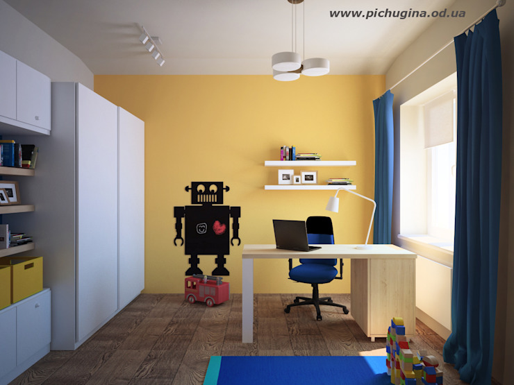 Nowoczesny pokój dziecięcy od Tatyana Pichugina Design Nowoczesny