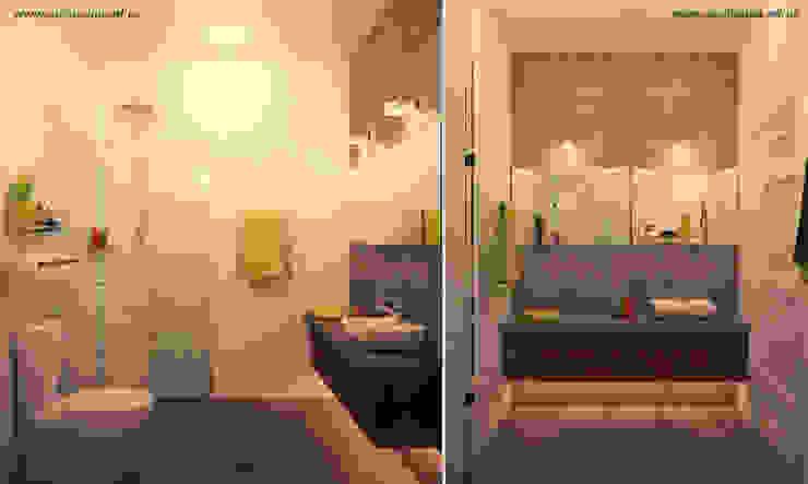 Дом, 180 м.кв. Ванная комната в стиле модерн от Tatyana Pichugina Design Модерн
