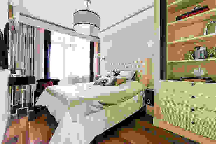Tony House Interior Design & Decoration Camera da letto moderna Beige
