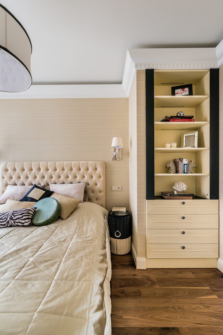 КВАРТИРА В СОВРЕМЕННОМ СТИЛЕ Спальня в стиле модерн от Tony House Interior Design & Decoration Модерн