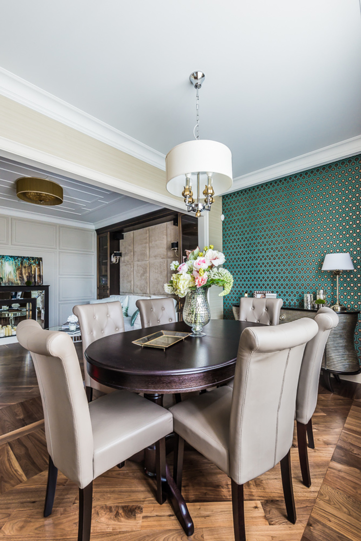Tony House Interior Design & Decoration Soggiorno moderno Variopinto