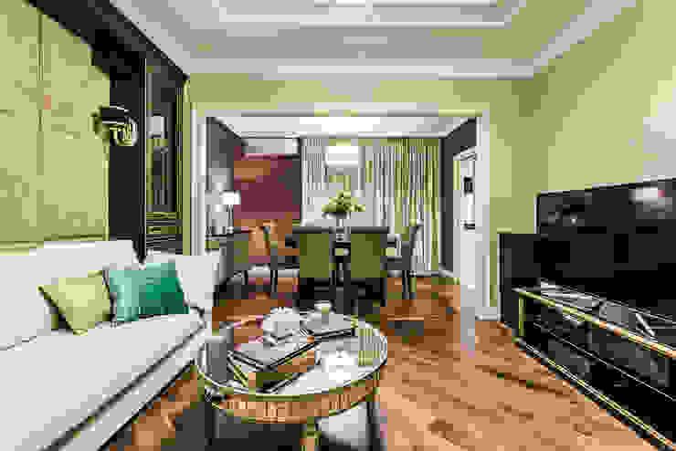 КВАРТИРА В СОВРЕМЕННОМ СТИЛЕ Гостиная в стиле модерн от Tony House Interior Design & Decoration Модерн