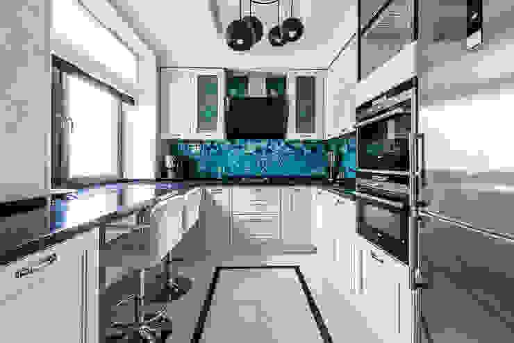 Tony House Interior Design & Decoration Cucina moderna Bianco