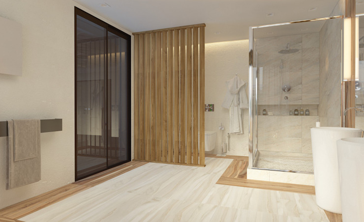Eclectic style bathroom by Катя Волкова Eclectic