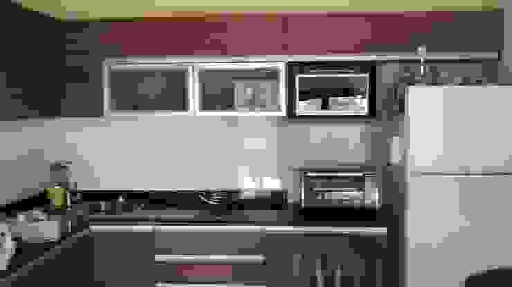 Cocinas de estilo moderno de BULLK Aruitectura y construcción Moderno