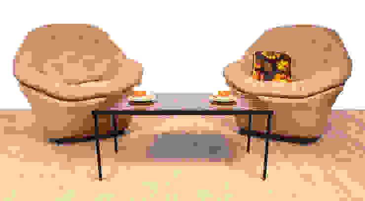 1960's Bucket Chairs Modern living room by RetroLicious Ltd Modern