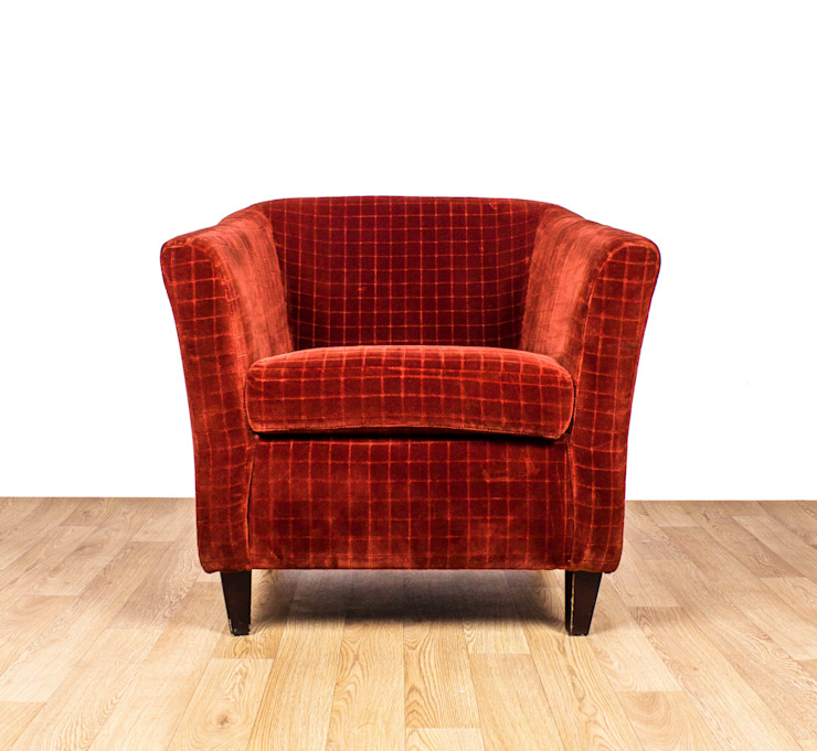 1960's Club Chair Modern living room by RetroLicious Ltd Modern