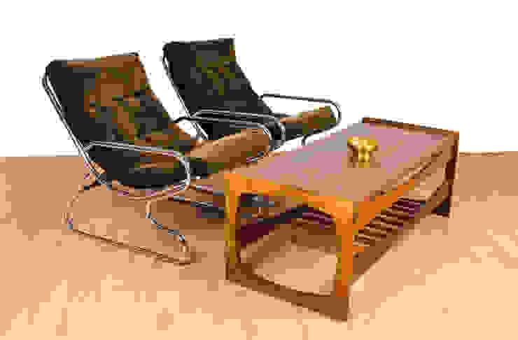Chrome Sling Chairs Modern living room by RetroLicious Ltd Modern