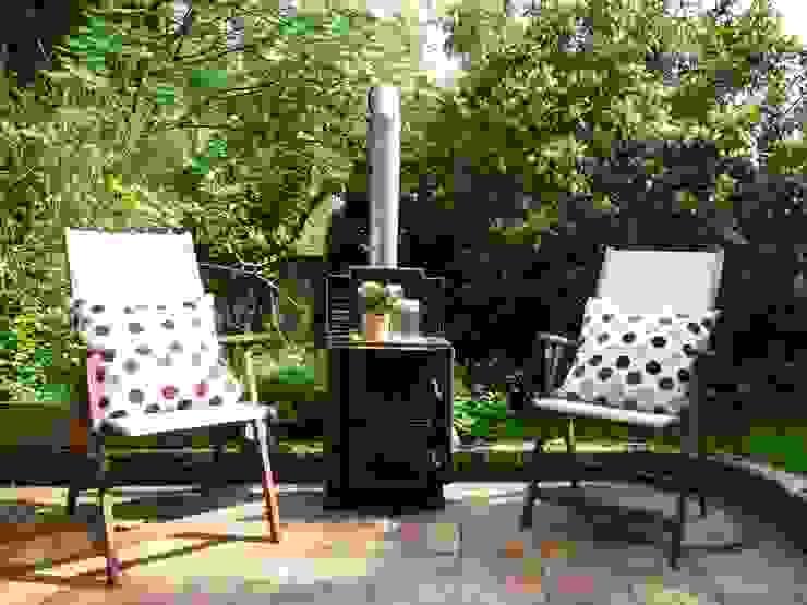 Ferienhaus Balkon, Veranda & Terrasse im Landhausstil von Birgit Hahn Home Staging Landhaus