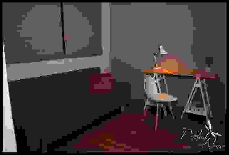 Segundo dormitorio invitacion al disfrute Dormitorios eclécticos de Diseñadora Lucia Casanova Ecléctico