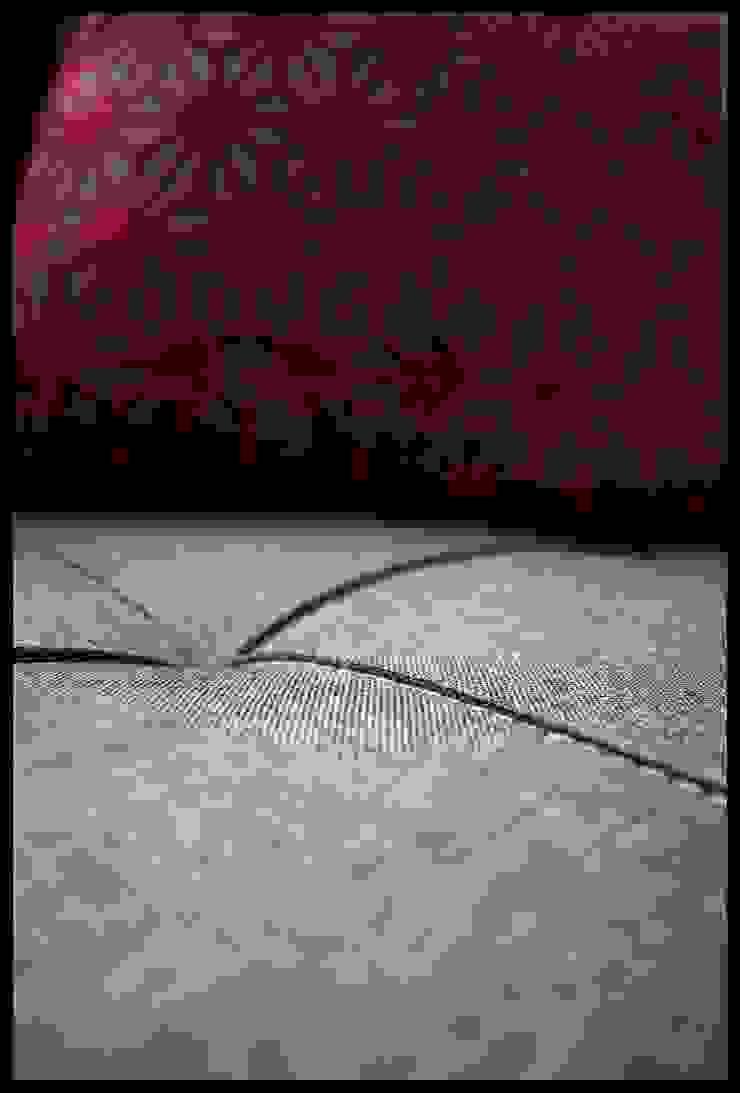Texturas Dormitorios eclécticos de Diseñadora Lucia Casanova Ecléctico