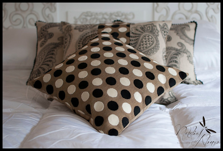 Departamento Punta Carretas Dormitorios eclécticos de Diseñadora Lucia Casanova Ecléctico