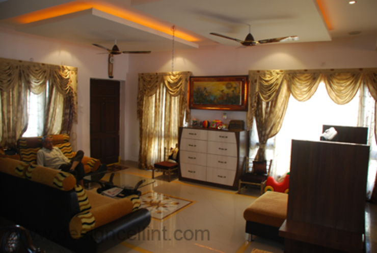 LIVING ROOMS Modern living room by Design Cell Int Modern