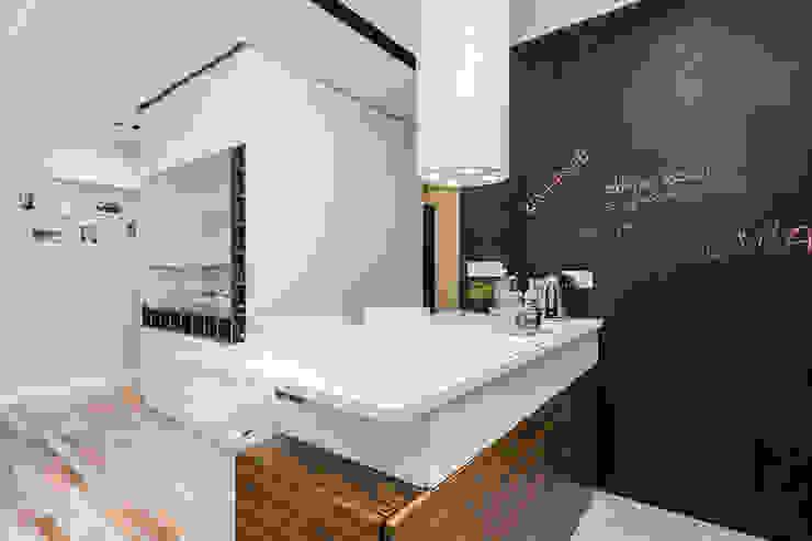 mieszkanie Ochota, Warszawa Nowoczesna kuchnia od Kameleon - Kreatywne Studio Projektowania Wnętrz Nowoczesny