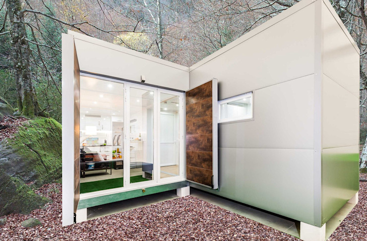 MoDULoW Prefabricated Home