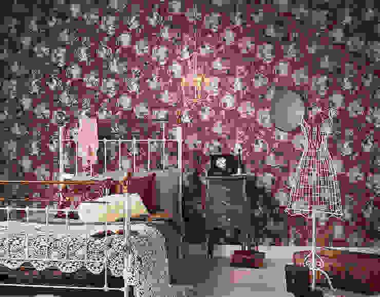 Disbar Papeles Pintadosが手掛けた壁&床