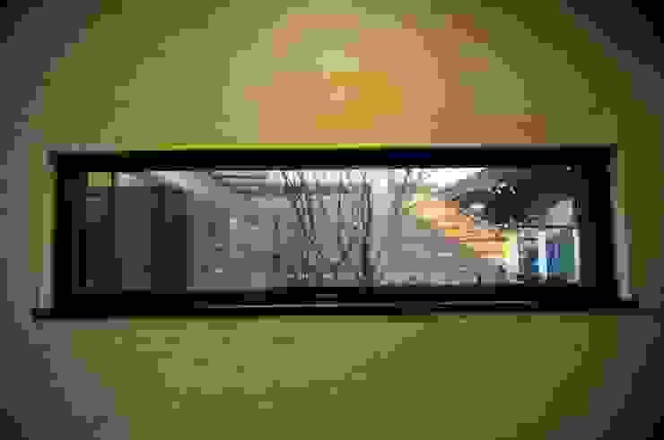 Patio House 모던스타일 발코니, 베란다 & 테라스 by 구도건축사사무소 모던
