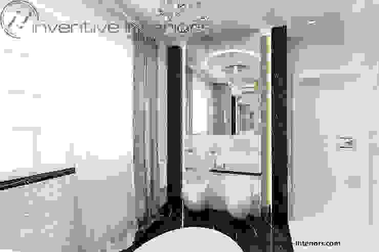 Luksusowa łazienka Klasyczna łazienka od Inventive Interiors Klasyczny Marmur