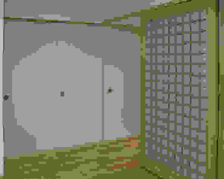 御所南の家 モダンスタイルの 玄関&廊下&階段 の 株式会社 atelier waon モダン