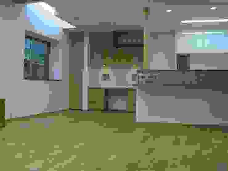 御所南の家 モダンデザインの ダイニング の 株式会社 atelier waon モダン