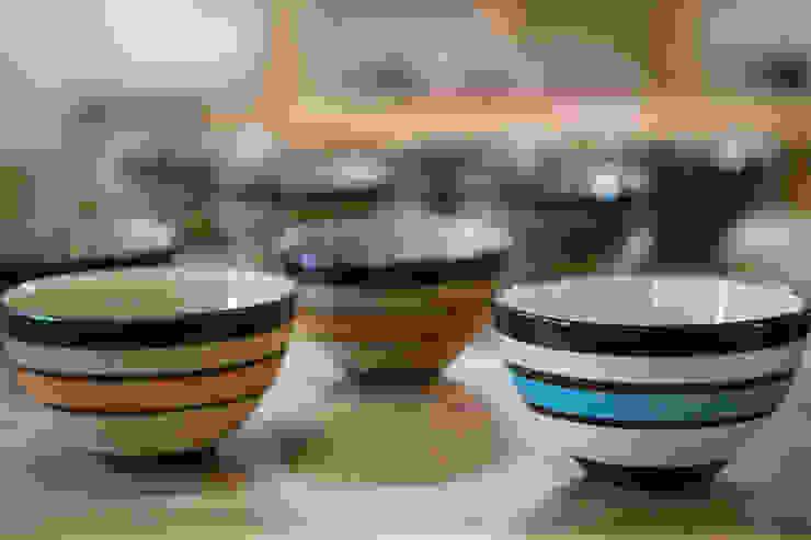 カフェオレボール: tsurumiが手掛けた現代のです。,モダン 陶器